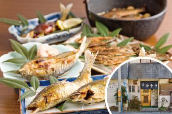 天然川魚料理 和食処 しろきや